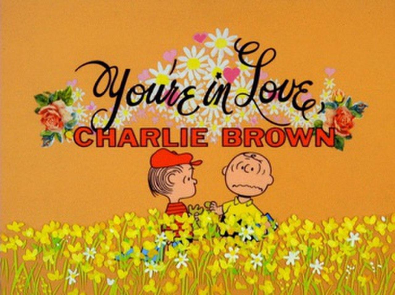 Du bist verliebt, Charlie Brown