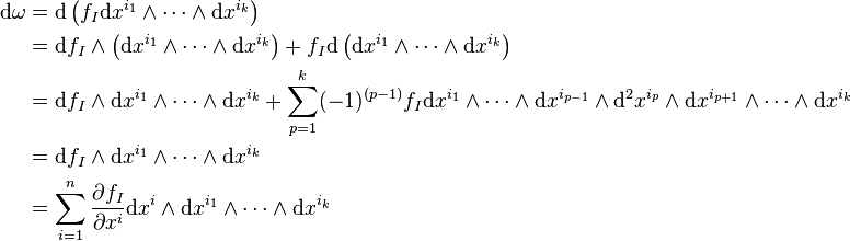 On A Differentiable Manifold, The Exterior Derivative Extends The Concept  Of The Differential Of A Function To Differential Forms Of Higher Degree.