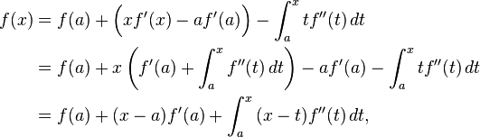 taylors theorem Econ 204 taylor's theorem in this supplement, we give alternative versions of taylor's theorem for univariate functions, we provide a different formulation of .