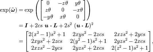 Rodrigues' Rotation Formula