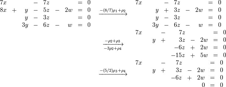 how to write a solution set