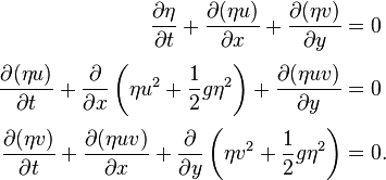 Derivation of navier stokes equations