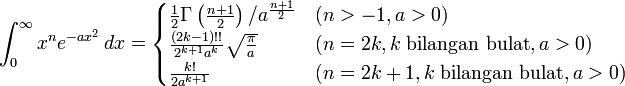 Daftar Integral Dari Fungsi Eksponensial Blognya Matematika