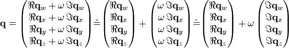 Hamilton Quaternion Ring Example