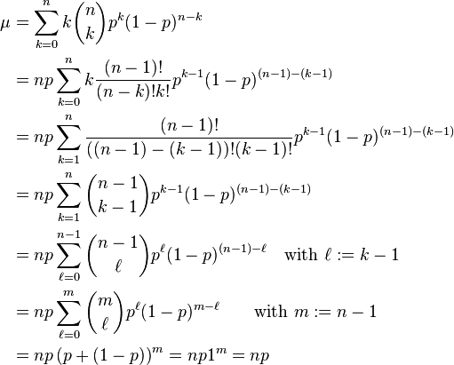 how to use the binomial theorem on a calculator