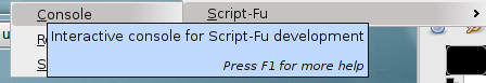 this is a little image of the script-fu menu