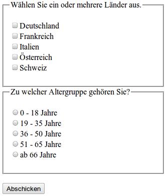 Websiteentwicklung: XHTML: Formulare – Wikibooks, Sammlung freier ...