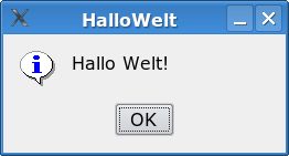 Gambas HalloWelt Message.png
