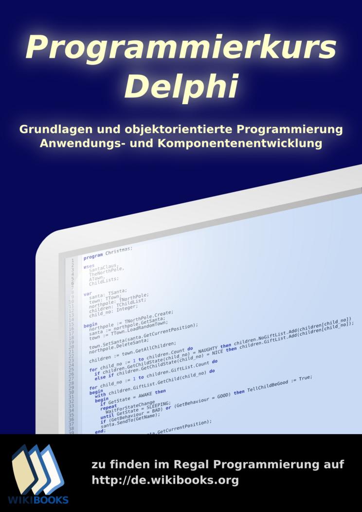 Programmierkurs: Delphi: Druckversion – Wikibooks, Sammlung freier ...
