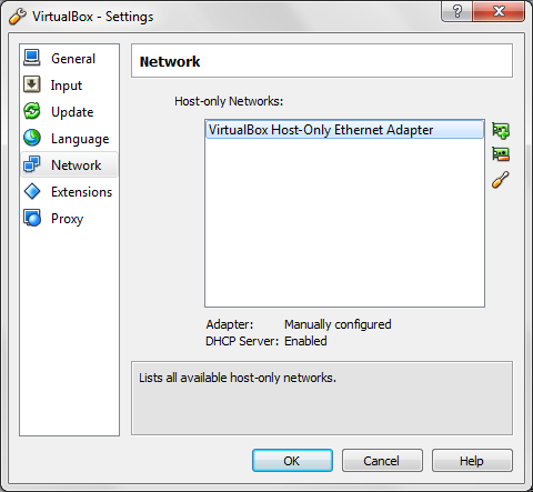 Network adapter preferences