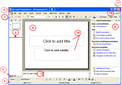 PowerPoint Window