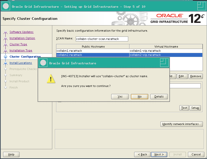 RA-Oracle_GI_12101-Install-Confirm Cluster Name