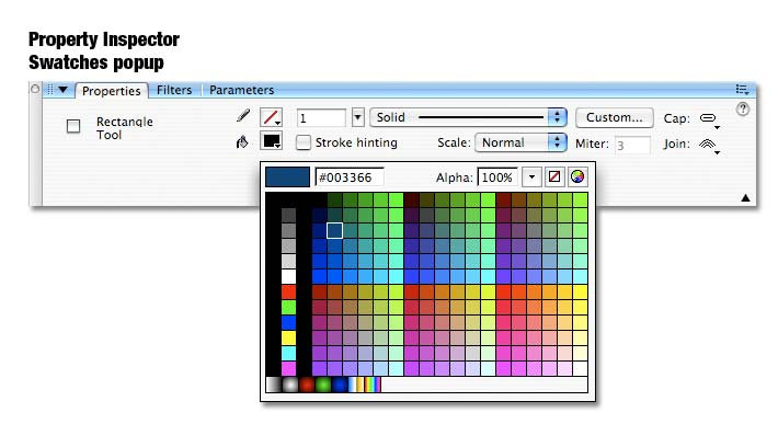Beginner S Guide To Adobe Flash Color Color Swatches