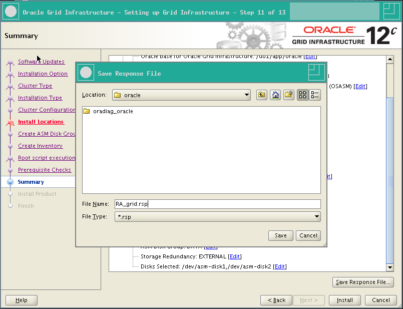 RA-Oracle_GI_12101-Install-Save response file