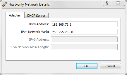 Network adapter 1 address