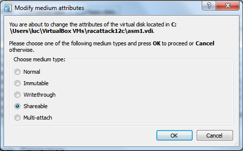 Virtualbox 4: Create Shared Storage - virtual media manager shareable