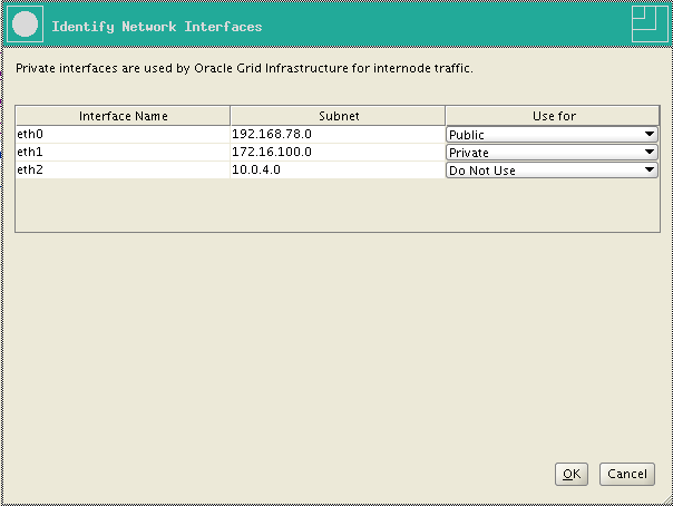 RA-Oracle_GI_12101-Install-Identify Network Interfaces