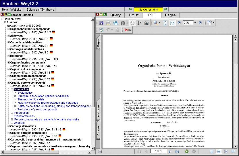 Chemical Information Sources/Synthesis and Reaction Searches