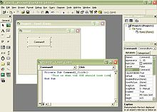 Visual Basic/Getting Started - Wikibooks, open books for an open world