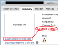 Screenshot from vSphere Web Client