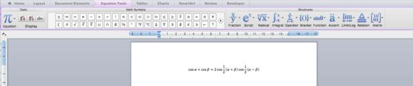 Typing Mathematics in Microsoft Word - Wikibooks, open books