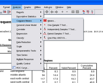 Using Spss And Paswsingle Sample Means Tests Wikibooks Open