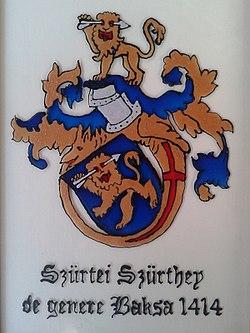 Címerhatározó/Szürtey címer – Wikikönyvek