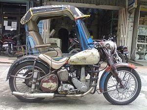 Profil Becak di Indonesia/Becak Siantar - Wikibuku bahasa