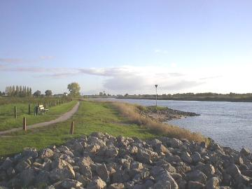 View of the River IJssel