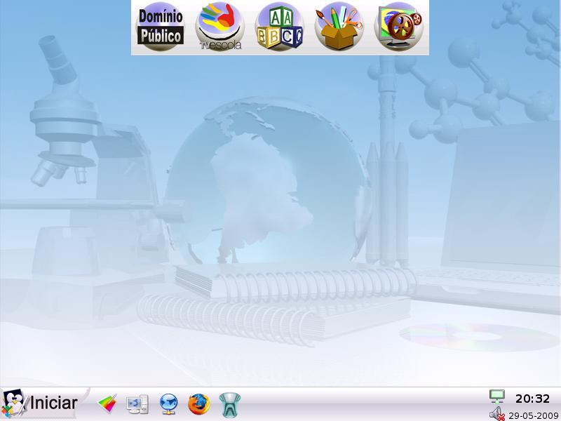 sistema operacional linux educacional 3.0