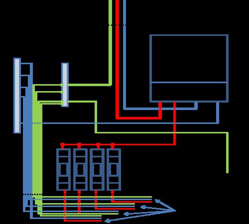 Монтажная схема сборки