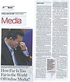 The Jakarta Globe July 22 2011 p A8 How Far is Too Far in The World of Online Media.jpg