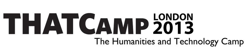 The THATCamp 2013 logo