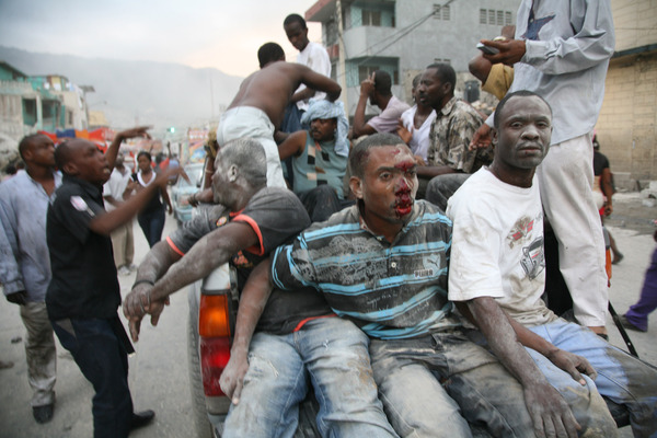 The earthquake in Haiti is a terrible disaster.