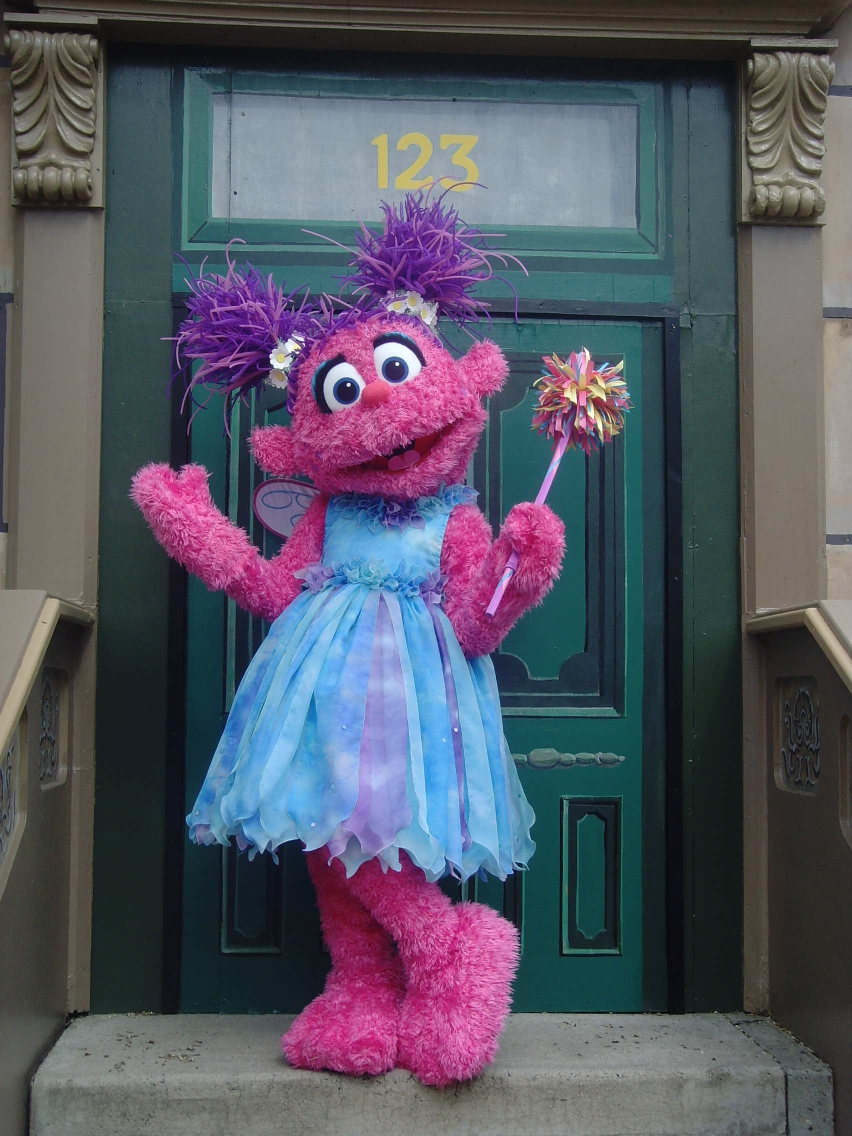 Abby Cadabby Debuts At Sesame Place Today As A Walkaround