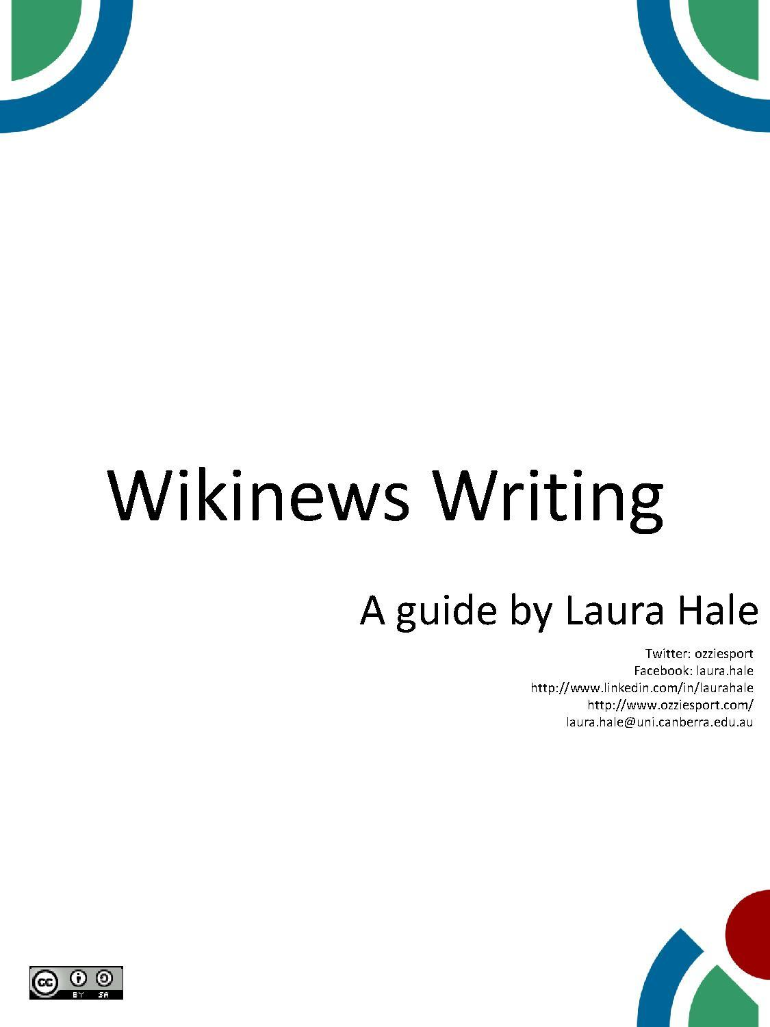 A general writing Wikinews guide