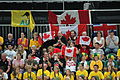 Canadian fans at Aus v Canada eh 2214.JPG