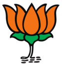 Logo of Bharatiya Janata Party.