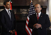 Presidents Obama and Calderón