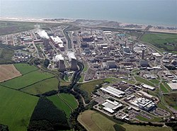 Sellafield viewed from the air
