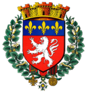 Coat of arms of Lyon.