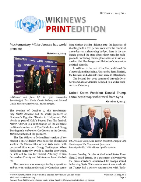 File:Wikinews Print Edition October 12, 2019.pdf