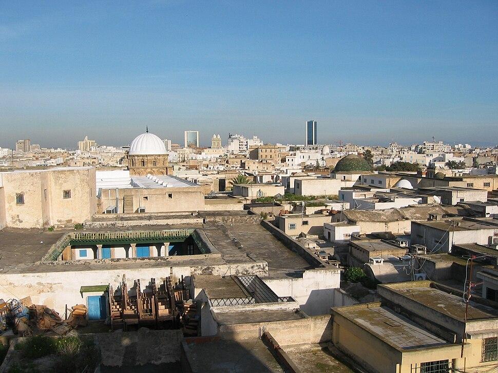 Tunis-uitsig