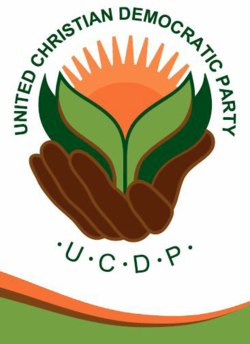 Logo van die United Christian Democratic Party