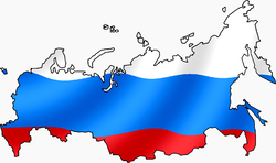 Russian Flag with map af.png