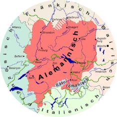 Suisse-allemand : réponses à Hodgers ? dans Scène médiatique Houptsyte-Karte-Alemannisch-235px