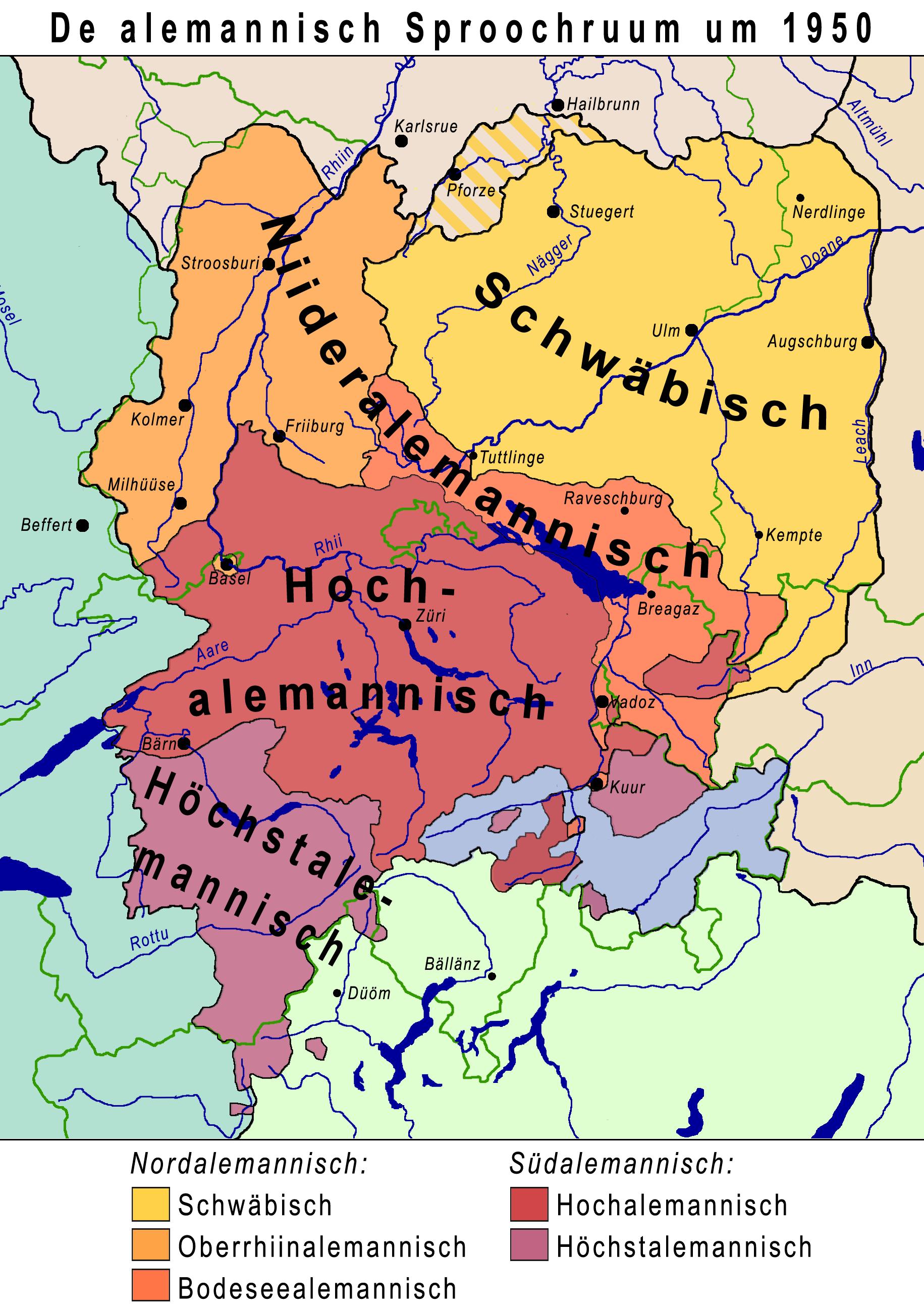 Alemannische Dialekte heute