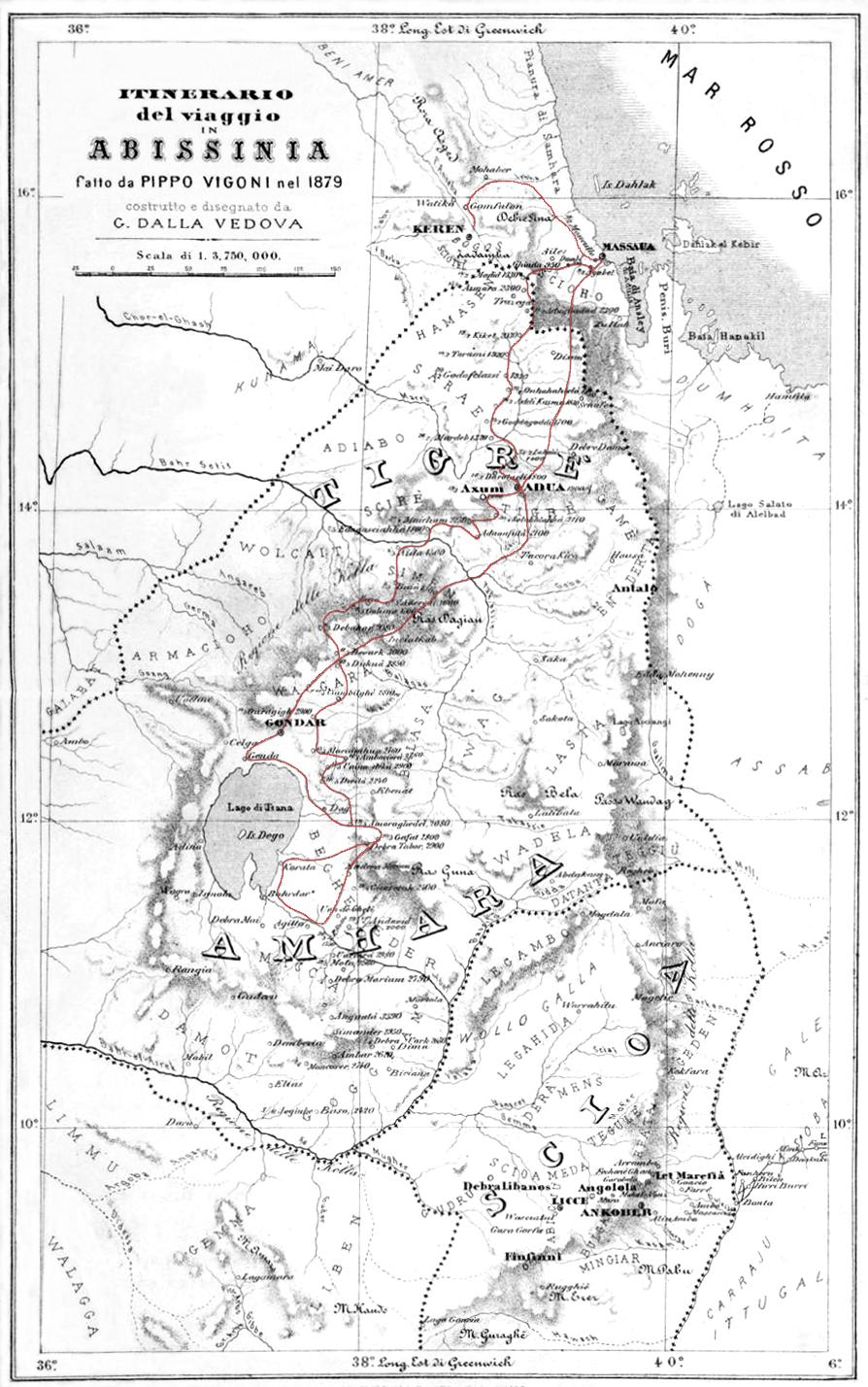 Welkait Tsegede part of historical Tigray or Gonder let the maps