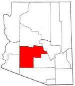 Map of Arizona highlighting Maricopa County.png