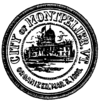 Official flag of Montpelier, Vermont